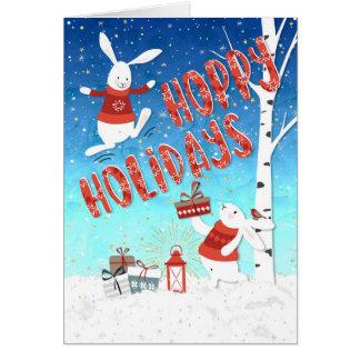 Weihnachtskarte - hopfenreiche karte