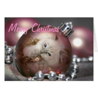 Weihnachtskarte Karte