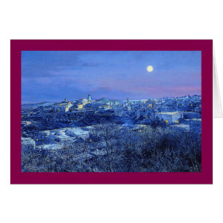 """Weihnachtskarte Pauls McGehee """"Bethlehem"""" Grußkarte"""