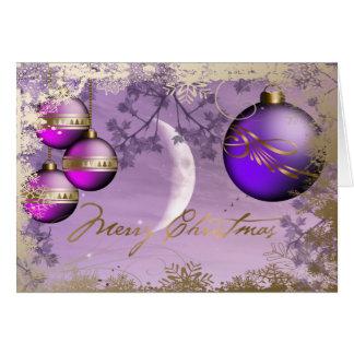 Weihnachtskarten Karte