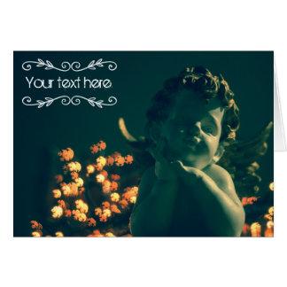 Weihnachtskartenengel Grußkarte
