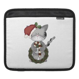 Weihnachtskatze Sankt Sleeve Für iPads