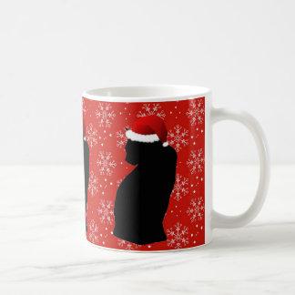 Weihnachtskatzen-Tasse Kaffeetasse