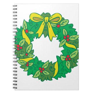 WeihnachtsKranz Notizblock