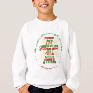 Weihnachtskreuz Sweatshirt