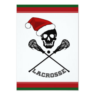 WeihnachtsLacrosse Karte
