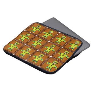 Weihnachtslebkuchen-Laptop-Hülsen-Tasche Laptopschutzhülle
