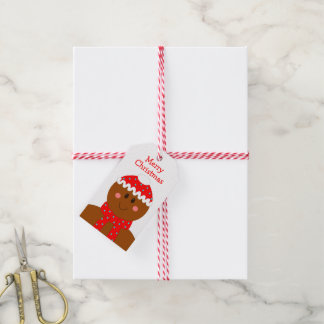 Weihnachtslebkuchen-Mann-Feiertags-Gewohnheit Geschenkanhänger