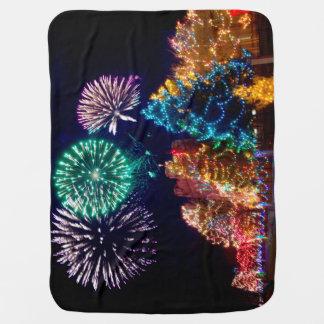 Weihnachtslicht-Babydecke Baby-Decken