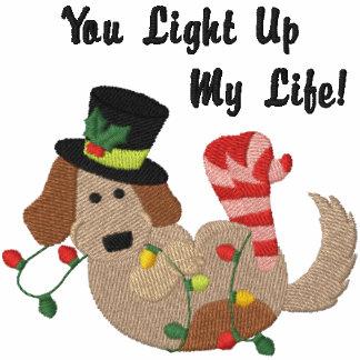 Weihnachtslicht-Hund