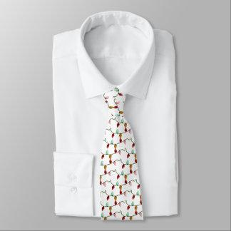 Weihnachtslicht-Krawatte Bedruckte Krawatte