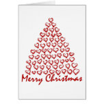 WeihnachtsLiebe-Baum Grußkarten
