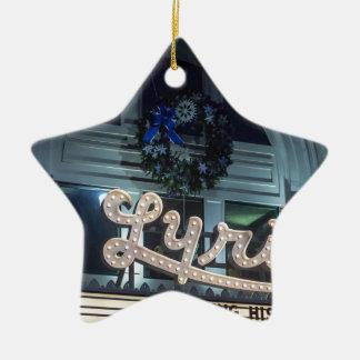 WeihnachtsLyrik Keramik Ornament