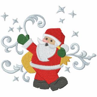 Weihnachtsmagie Bestickte Freizeitjacke