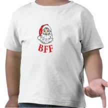 Weihnachtsmann-BESTE FREUNDIN Bestie! Hemd