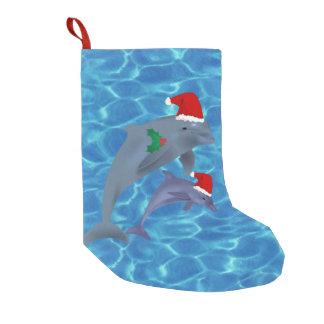 Weihnachtsmann-Delphin-Strumpf Kleiner Weihnachtsstrumpf