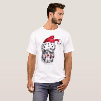 Weihnachtsmann-Schädel-T - Shirt