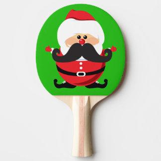 Weihnachtsmann Tischtennis Schläger