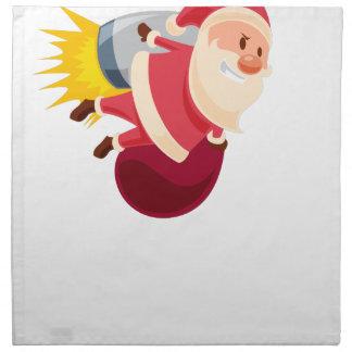 Weihnachtsmann-Weihnachten Serviette
