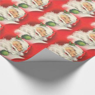 Weihnachtsmann/WeihnachtsPackpapier Geschenkpapier