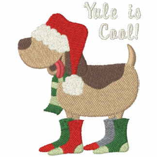Weihnachtsmannmütze-Hund