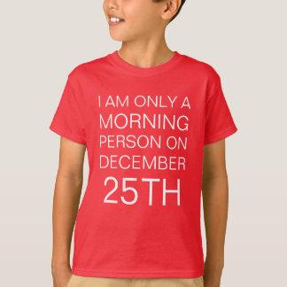 Weihnachtsmorgen T-Shirt