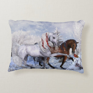 WeihnachtspferdeWurfs-Kissen Dekokissen