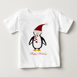 WeihnachtsPinguin-Baby-T-Shirt Baby T-shirt