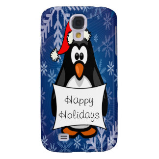 WeihnachtsPinguin Galaxy S4 Hülle