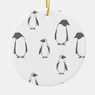 WeihnachtsPinguinmuster - Weihnachtsgeschenke Keramik Ornament