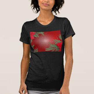 Weihnachtspoinsettia-Rot Hemd