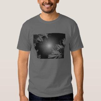 Weihnachtspoinsettia schwarz und Grau II T-shirts