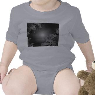 Weihnachtspoinsettia schwarz und Grau VIII Tshirt