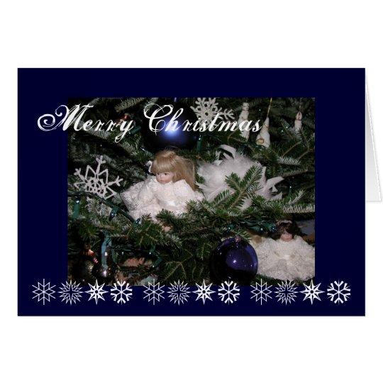 Weihnachtspuppen Grußkarte