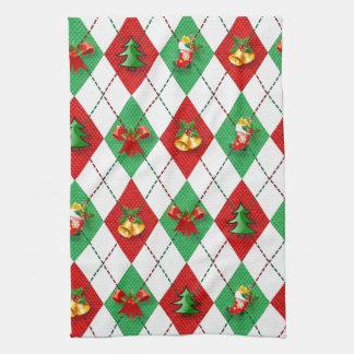 WeihnachtsRaute Küchentuch