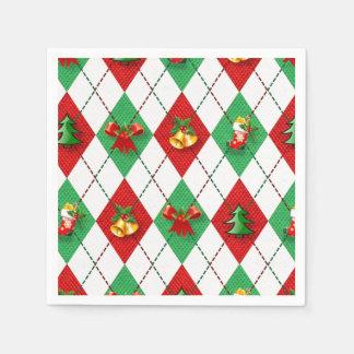 WeihnachtsRaute Servietten
