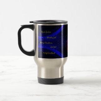 Weihnachtsreise-Tasse Reisebecher
