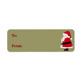 Weihnachtssankt-Aufkleber
