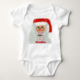 Weihnachtssankt-Babyeinteilerkleidung Baby Strampler