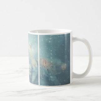 Weihnachtsschalen-Freude zum frohen Rumi Kaffeetasse