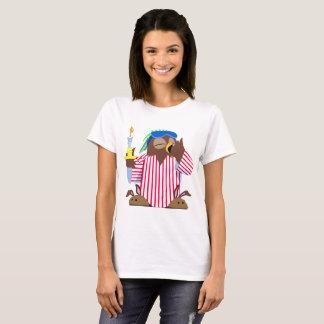 Weihnachtsschläfrige Eule T-Shirt