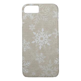Weihnachtsschneeflocken iPhone 7 Fall iPhone 7 Hülle