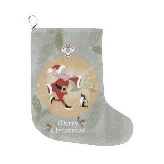 WeihnachtsSkaten-Sankt-Strumpf Großer Weihnachtsstrumpf