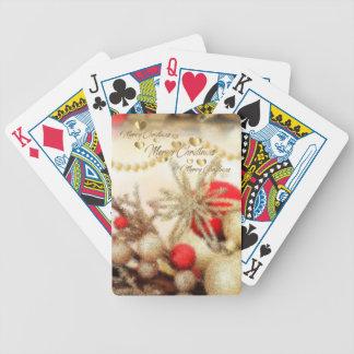 Weihnachtsspielkarten Pokerkarten