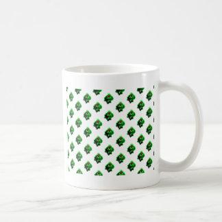 Weihnachtsstechpalmen-Beeren-Muster Kaffeetasse