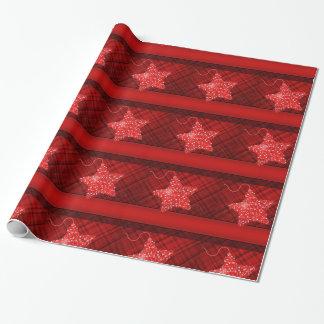 Weihnachtsstern Einpackpapier