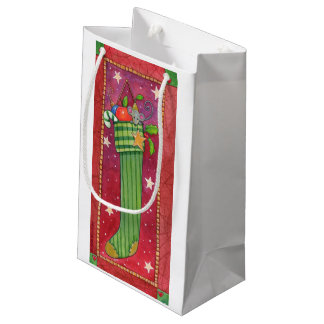 WeihnachtsStrumpf-Geschenk-Tasche Kleine Geschenktüte
