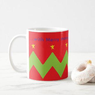 """WeihnachtsTasse """"… fröhlich mehr Christmases zum Kaffeetasse"""