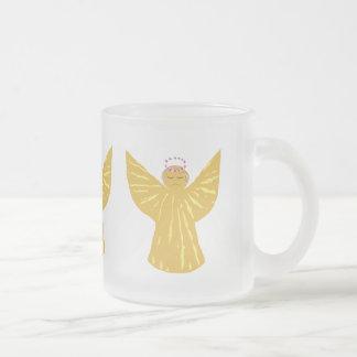 WeihnachtsTassen-mattierte Tassen-Engel Mattglastasse
