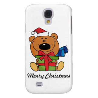 WeihnachtsTeddybär iPhone 3G Fall Galaxy S4 Hülle